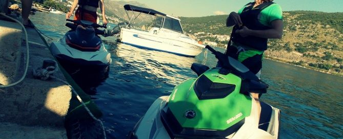 THE GPS AND JET SKI CONTROL