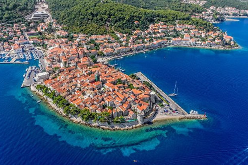 Gari transfer - Stop on Korcula island